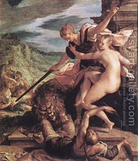 Allegory by Hans Von Aachen - Reproduction Oil Painting