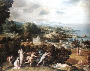 Mannerism painting reproductions: Orpheus and Eurydice