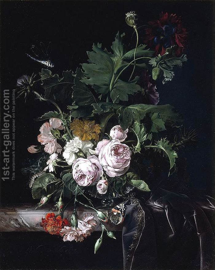 Huge version of Flower Still-Life 1677