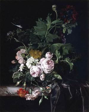 Reproduction oil paintings - Willem Van Aelst - Flower Still-Life 1677