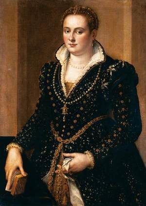 Mannerism painting reproductions: Portrait of a Noble Woman
