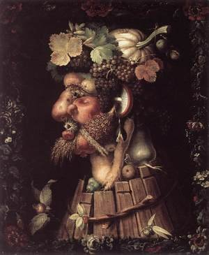 Mannerism painting reproductions: Autumn 1573