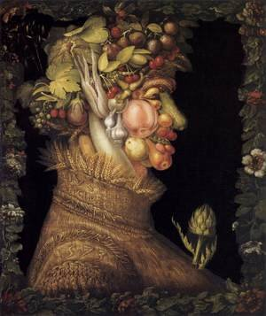Famous paintings of Vegetables: Summer 1573
