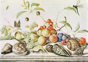 Famous paintings of Apples: Still-life c. 1628