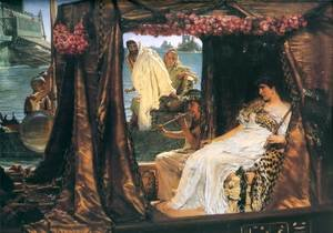 Reproduction oil paintings - Sir Lawrence Alma-Tadema - Antony and Cleopatra, 1883