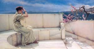 Reproduction oil paintings - Sir Lawrence Alma-Tadema - Expectations, 1885