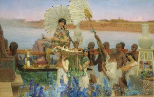 Reproduction oil paintings - Sir Lawrence Alma-Tadema - The Finding of Moses, 1904