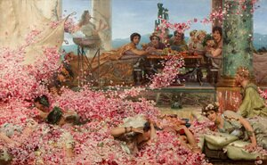Reproduction oil paintings - Sir Lawrence Alma-Tadema - The Roses of Heliogabalus, 1888