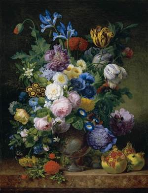 Academic Classicism painting reproductions: Still-Life 1810