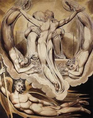 William Blake reproductions - Christ as the Redeemer of Man 1808
