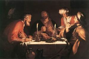The Emmaus Disciples 1622