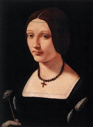 Portrait of a Lady as St Lucy c. 1500