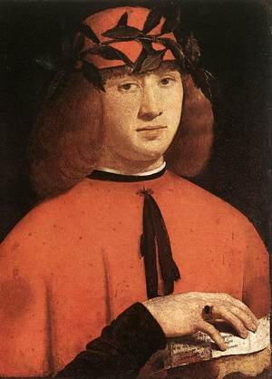 Portrait of Gerolamo Casio 1495