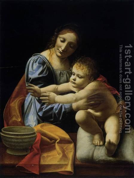 Giovanni Antonio Boltraffio: The Virgin and Child 1490s - reproduction oil painting