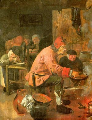 Famous paintings of Desserts: The Pancake Baker 1620s