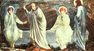 Pre-Raphaelites painting reproductions: The Morning of the Resurrection 1882