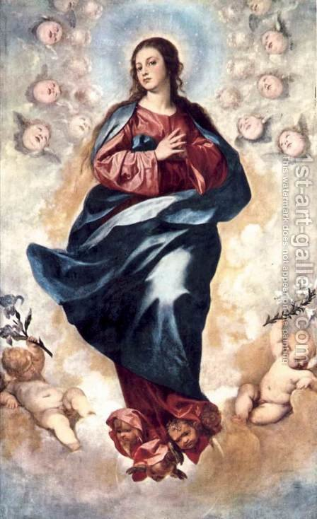 Immaculate Conception 1648 by Alonso Cano - Reproduction Oil Painting