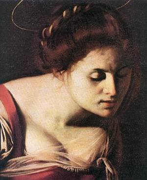 Reproduction oil paintings - Caravaggio - Madonna Palafrenieri (detail) 1606