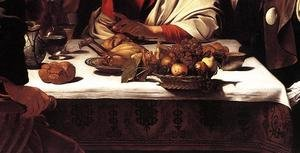 Reproduction oil paintings - Caravaggio - Supper at Emmaus (detail 2) 1601-02