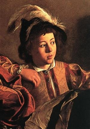 Reproduction oil paintings - Caravaggio - The Calling of Saint Matthew (detail 3) 1599-1600