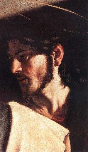 Reproduction oil paintings - Caravaggio - The Calling of Saint Matthew (detail 7) 1599-1600