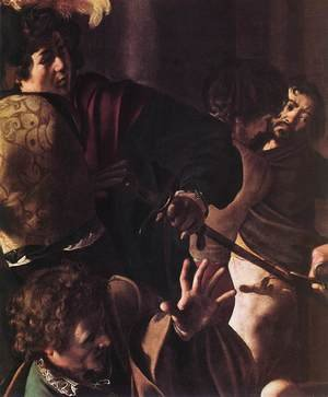 Reproduction oil paintings - Caravaggio - The Martyrdom of St Matthew (detail 1) 1599-1600
