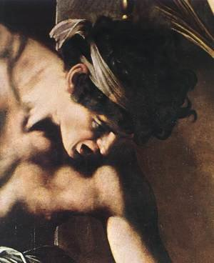 Reproduction oil paintings - Caravaggio - The Martyrdom of St Matthew (detail 2) 1599-1600