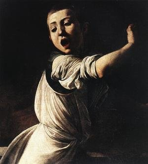 Reproduction oil paintings - Caravaggio - The Martyrdom of St Matthew (detail 5) 1599-1600