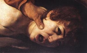 Reproduction oil paintings - Caravaggio - The Sacrifice of Isaac (detail 2) 1601-02
