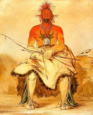 Buffalo Bull  A Grand Pawnee Warrior 1832
