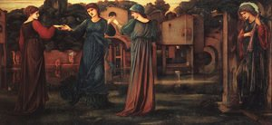 Reproduction oil paintings - Maria Euphrosyne Spartali, later Stillman - The Mill