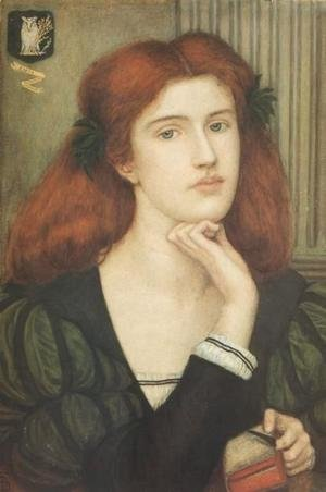 Reproduction oil paintings - Maria Euphrosyne Spartali, later Stillman - The Lady Prays-desire