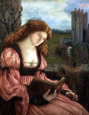 Reproduction oil paintings - Maria Euphrosyne Spartali, later Stillman - St. Barbara