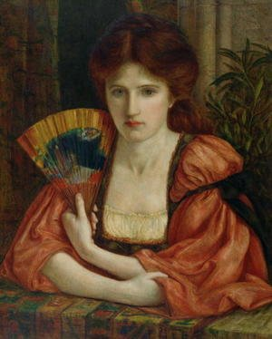 Reproduction oil paintings - Maria Euphrosyne Spartali, later Stillman - Self Portrait 2