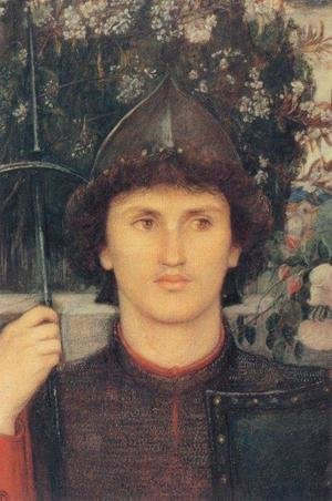 Reproduction oil paintings - Maria Euphrosyne Spartali, later Stillman - St George
