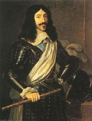 Reproduction oil paintings - Philippe de Champaigne - King Louis XIII 1655
