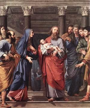 Reproduction oil paintings - Philippe de Champaigne - The Presentation of the Temple 1648