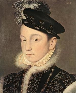 Mannerism painting reproductions: Portrait of King Charles IX of France 1561