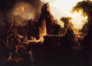 Reproduction oil paintings - Thomas Cole - Expulsion from the Garden of Eden, 1828