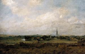 Reproduction oil paintings - John Constable - View of Salisbury c. 1820