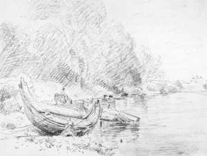 Reproduction oil paintings - John Constable - View on the River Severn at Worcester 1835