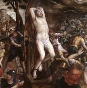 Oil painting reproductions - Saints - Michiel van Coxie: The Torture of St George 1580s