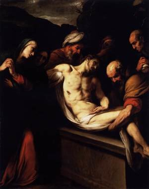 Reproduction oil paintings - Daniele Crespi - The Entombment 1620s