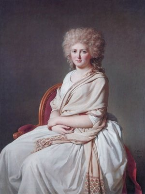 Reproduction oil paintings - Jacques Louis David - Anne-Marie-Louise Thélusson, Comtesse de Sorcy 1790