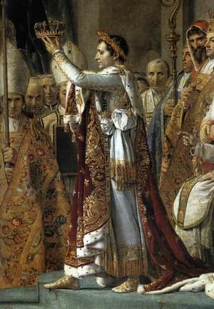Reproduction oil paintings - Jacques Louis David - Consecration of the Emperor Napoleon I (detail 1) 1805-07