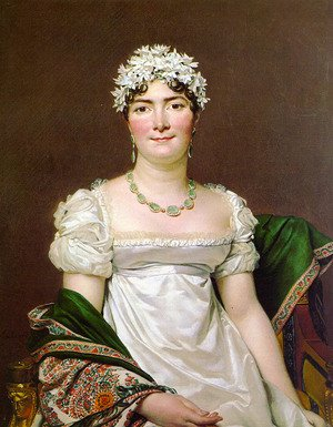 Reproduction oil paintings - Jacques Louis David - Portrait of Countess Daru 1810