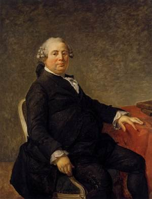 Reproduction oil paintings - Jacques Louis David - Portrait of Philippe-Laurent de Joubert c. 1786