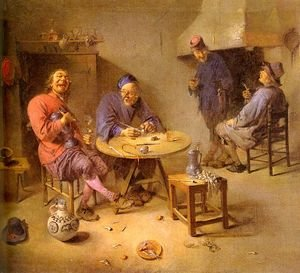 Famous paintings of Taverns: Barroom 1665