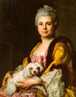 Reproduction oil paintings - Joseph Siffrein Duplessis - Madam Freret-Déricour 1769