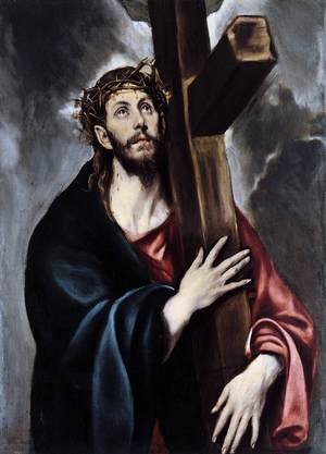 Mannerism painting reproductions: Christ Carrying the Cross, 1600-1605